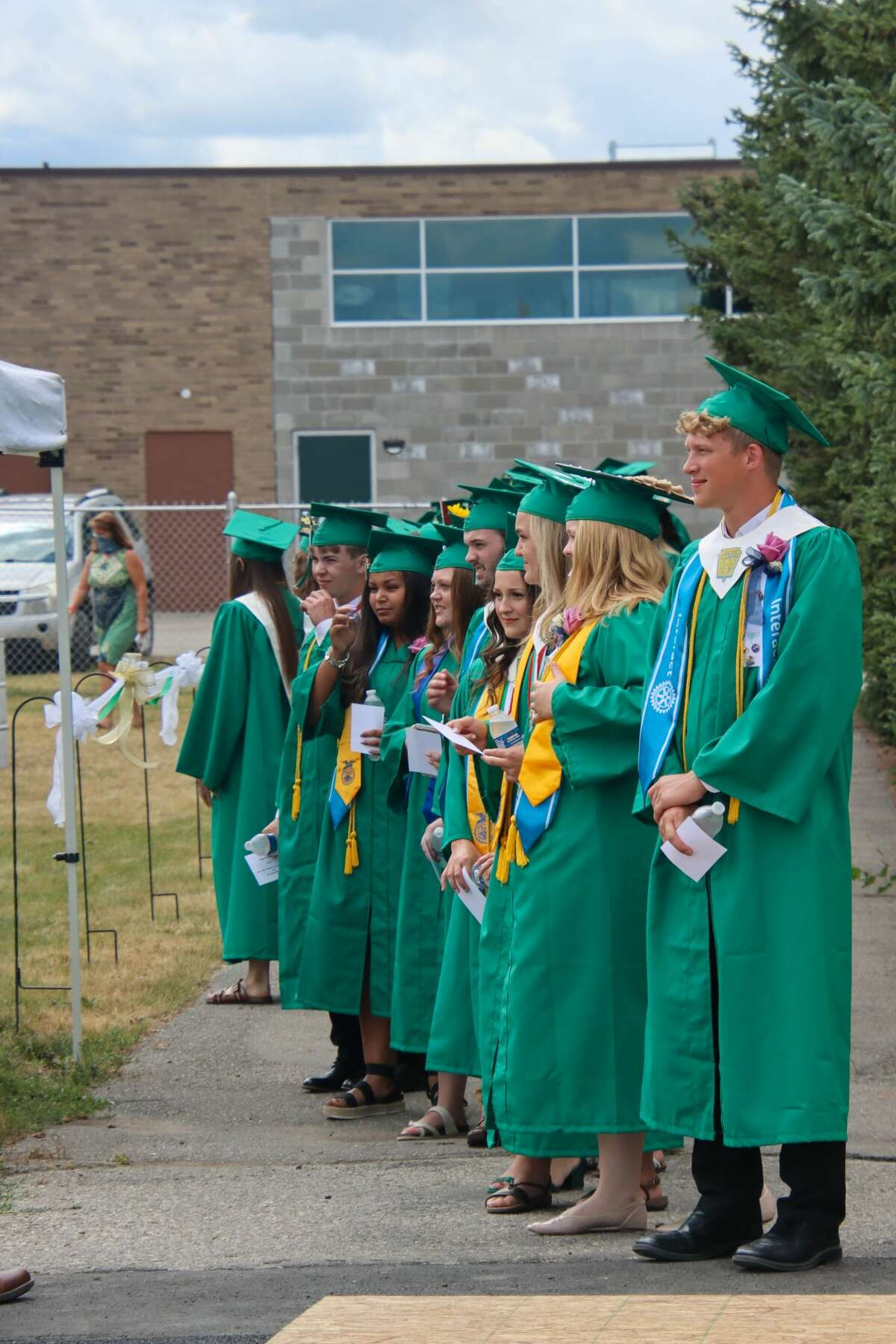 Laker High School faculty, families and graduates were welcomed by blue skies and beautiful weather as they celebrated the graduating class of 2020.