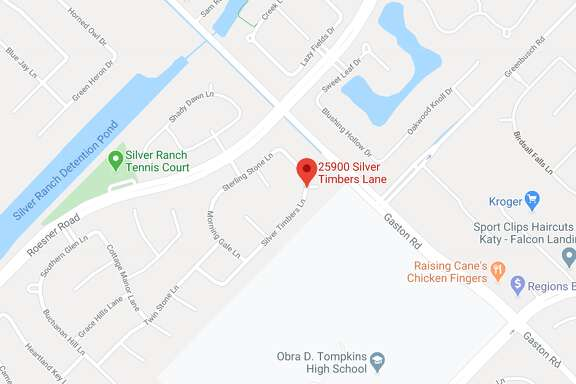 The incident took place around 3 a.m. Sunday at a home in the 25900 block of Silver Timbers Lane in Katy.