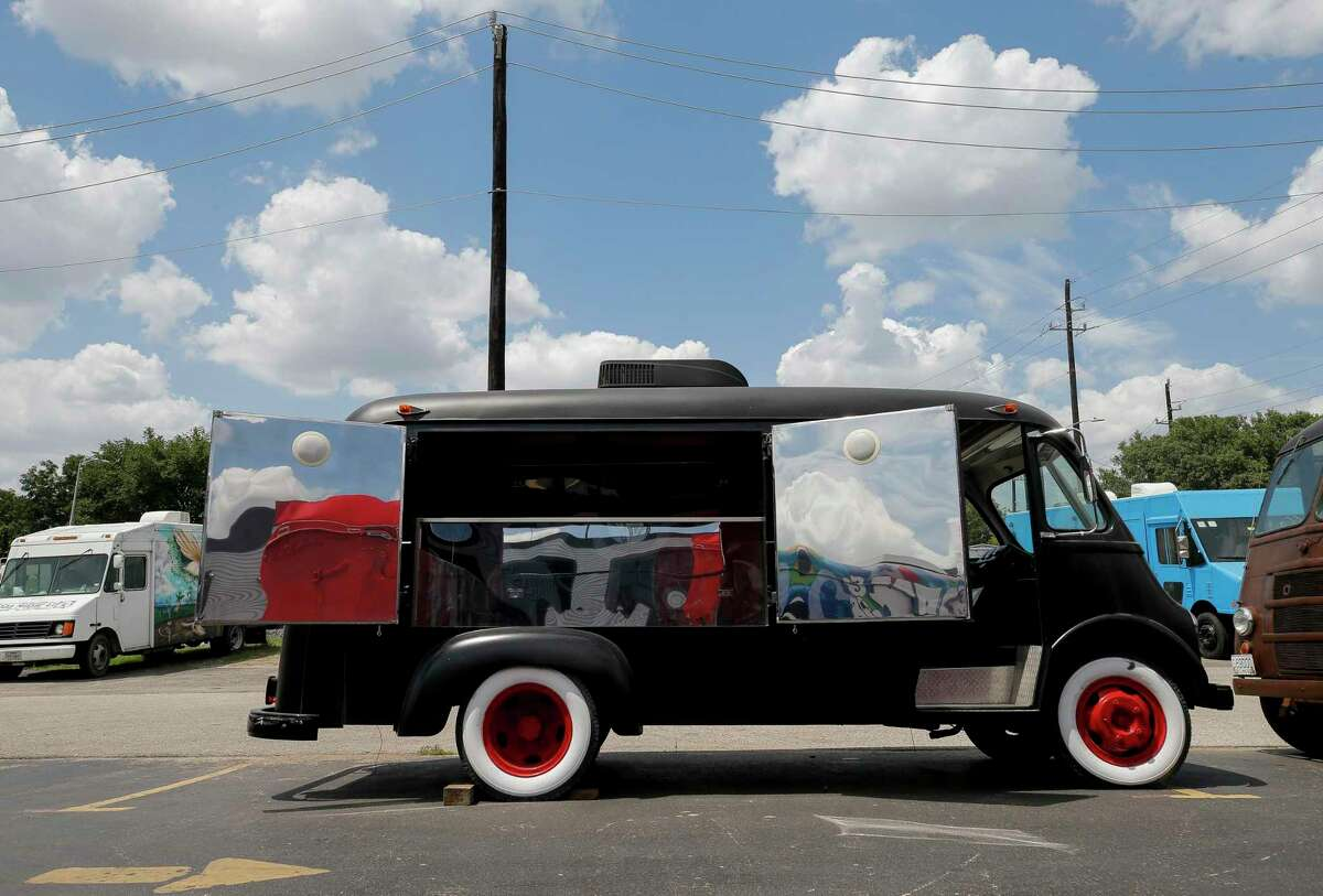 TX Cart Builder turned this 1952 International Metro Harvest Van into a mobile bar for a local bar. TX Cart Builder began receiving 20 to 30 phone calls a day in May from bars and restaurants trying to cope with the pandemic, many of them from local institutions such as Cadillac Bar and Breakfast Klub.