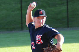 Alton pitcher Cullen McBride needed just 70 pitches to finish off a three-hit shutout in his team's 5-0 victory Sunday afternoon in Washington, Missouri. Alton lost to second game of the day, falling to host Washington 10-0 to end the week with a 15-5 record.