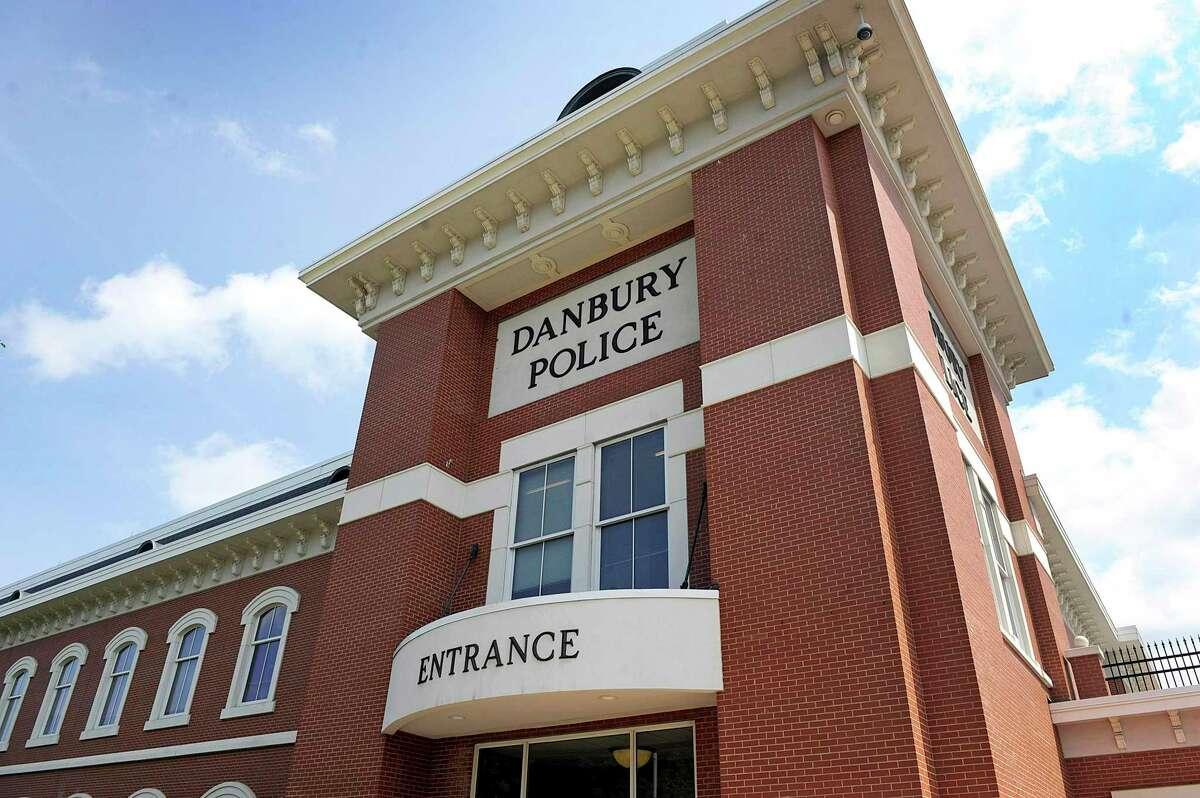 Police headquarters on Main Street in Danbury, Conn.