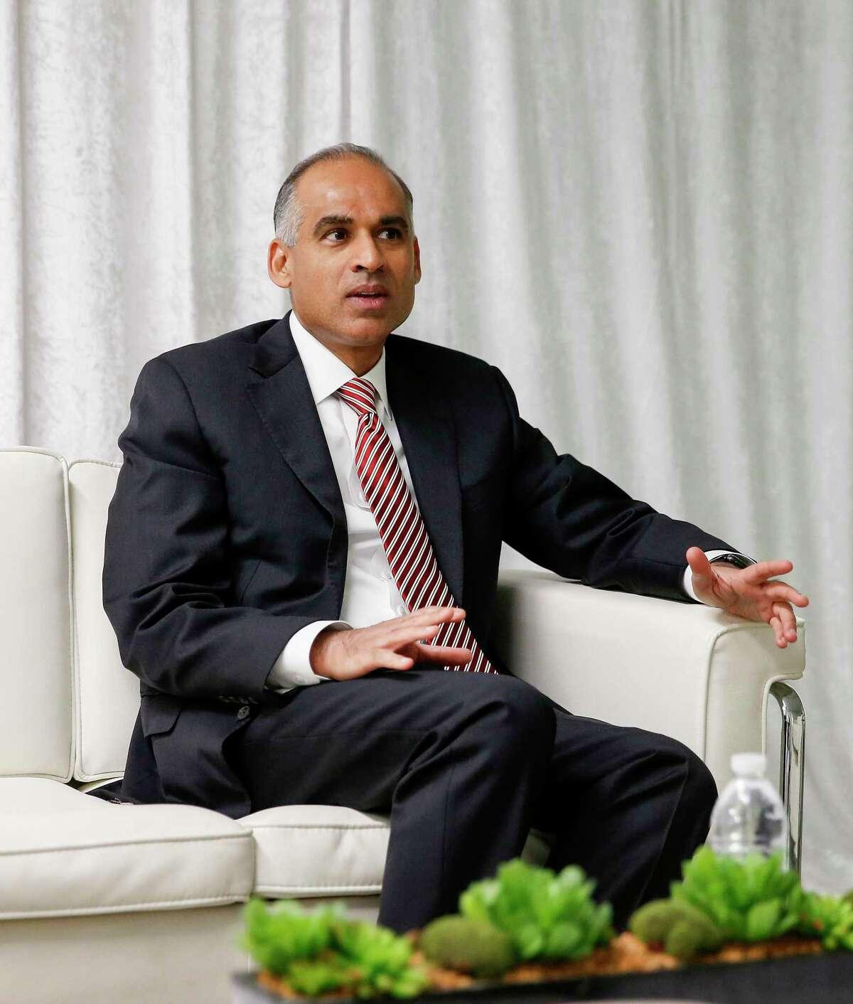 No. 9. Bob Patel, CEO of LyondellBasell.