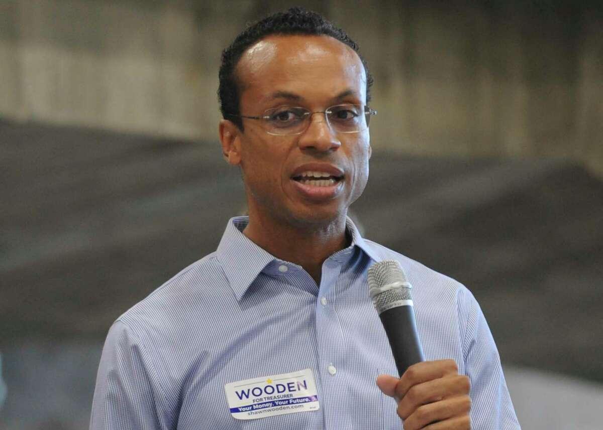 State Treasurer Shawn Wooden
