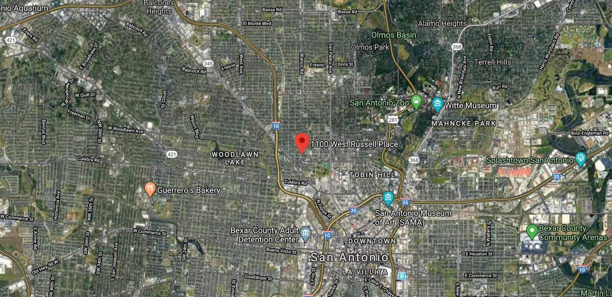 A 7-year-old was injured Monday morning after getting hit by a bullet on the North Side. The map shows the approximate location of the incident.