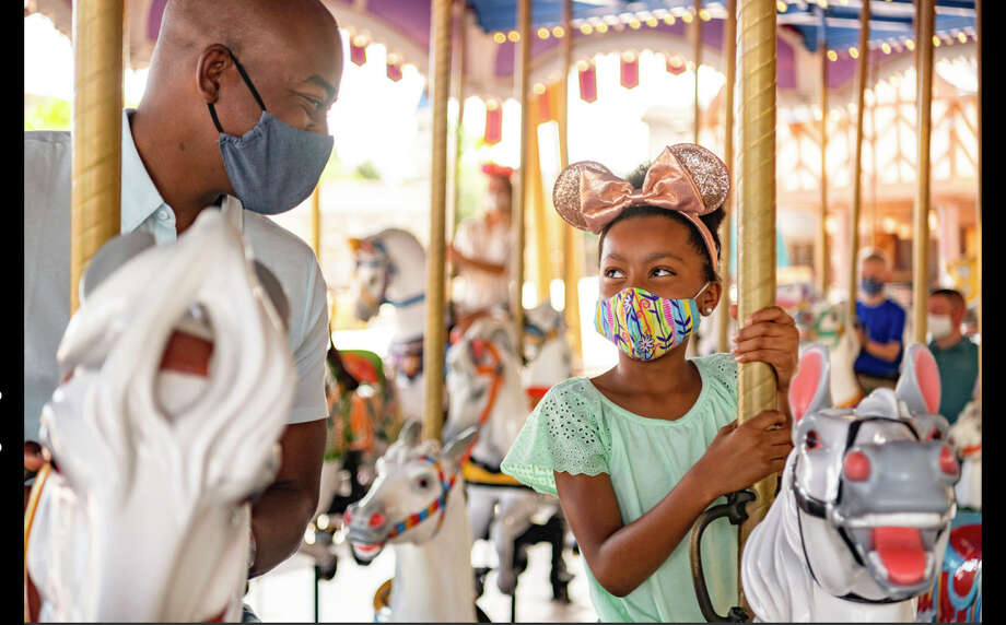 New measures are in place to promote health and well-being in table-service restaurants at Walt Disney World Resort in Lake Buena Vista, Fla. Photo: Matt Stroshane, Photographer