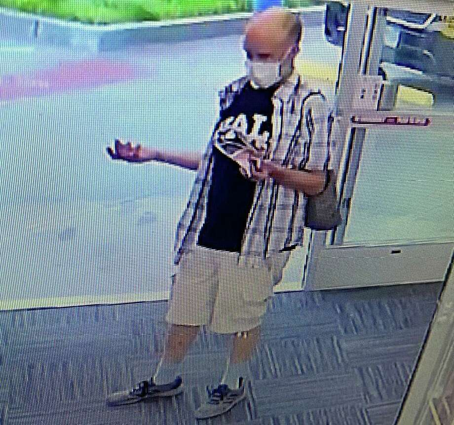 Police are attempting to identify a shoplifting suspect at the CVS Pharmacy at 1245 Dixwell Ave. in Hamden. Photo: Surveillance Photo