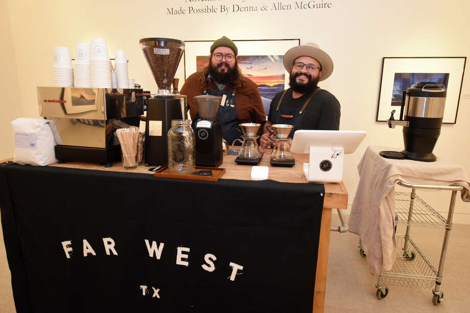 "Far West TX coffee at the ""Reinbeer VII"" event Dec. 5, 2018, at the Museum of the Southwest. James Durbin/Reporter-Telegram Photo: James Durbin / © 2018 Midland Reporter-Telegram. All Rights Reserved."