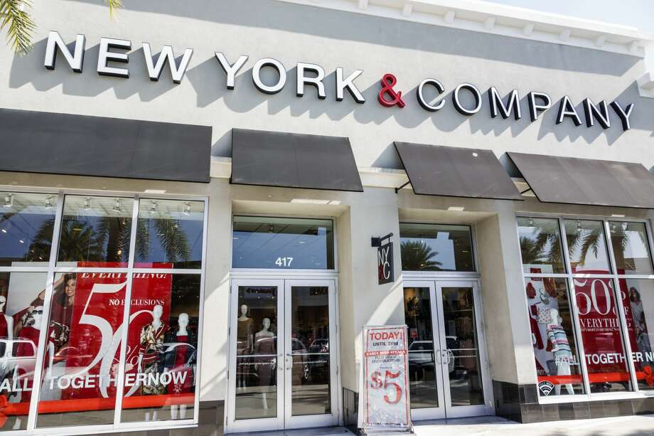 A New York & Company is shown in Fort Lauderdale, Florida. Photo: Jeff Greenberg/Education Images/Universal Image/via Getty