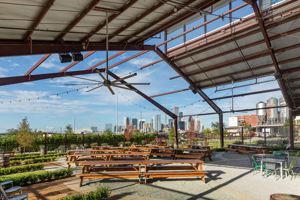 Saint Arnold Brewing, as well as its solid retail operations, has a beer garden and restaurant on premise.