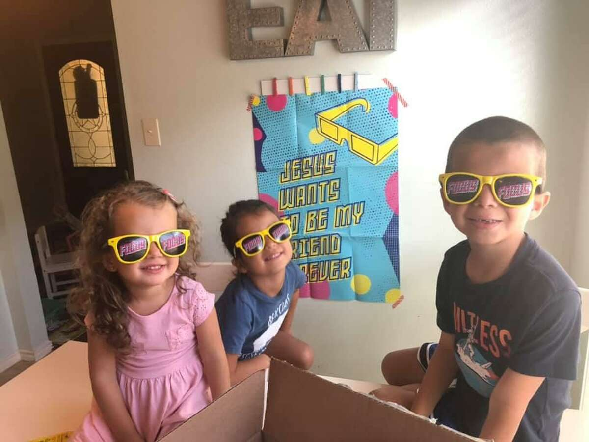 Instead of traditional camp and vacation Bible school this summer due to the pandemic, St. Peter's United Methodist Church in Katy has opted to provide take-home camps.