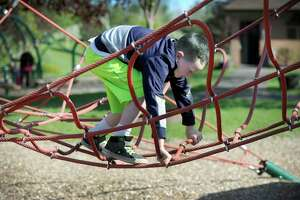 File photo of the playground at the Brookfield Municipal Center Monday, May 16, 2016.