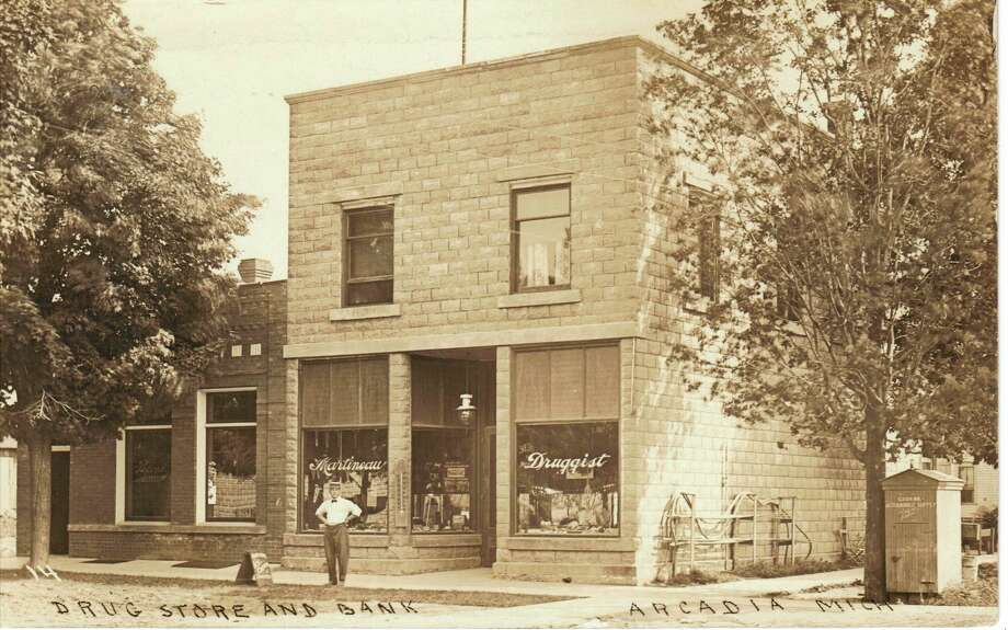 Martineau's Drugstore was located at the corner of Lake and Second streets in Arcadia.