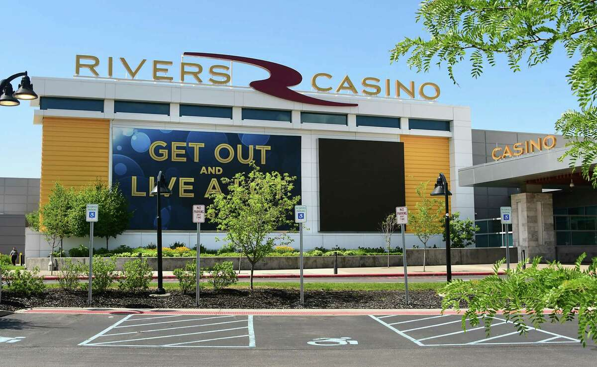 Exterior of Rivers Casino on Monday, July 13, 2020 in Schenectady, N.Y. Rivers Casino plans to lay off many employees who have been on furlough since March.(Lori Van Buren/Times Union)
