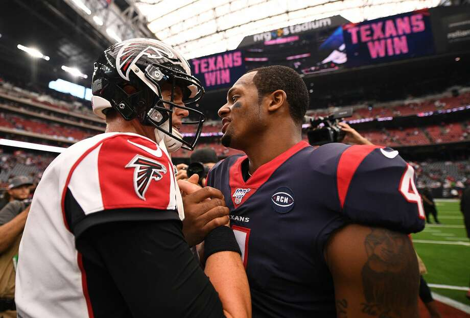 PHOTOS: The Top 10 quarterbacks in the upcoming Madden '21 video game Matt Ryan has had two straight losing seasons, but he's still ranked ahead of the Texans' Deshaun Watson, according to Madden '21. Photo: Mark Brown/Getty Images / 2019 Getty Images