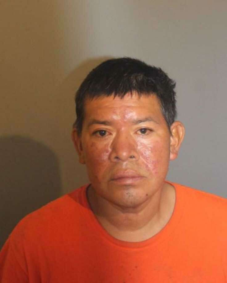Carlos Enrique Guzman-Lopez, 46, was captured in Stamford on Friday. He was wanted in connection with a man's death in Danbury. Photo: Danbury Police Department / Contributed