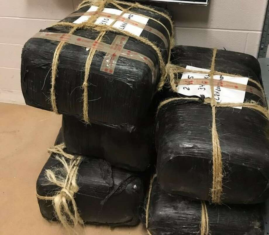 Border Patrol seized 345.4 pounds of marijuana. Photo: Courtesy