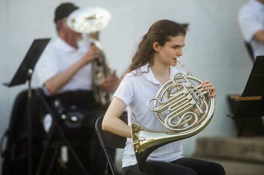 Wednesday, July 15: Chemical City Band will perform at 7:30 p.m. at the Nicholson-Guenther Band Shell in Central Park in Midland.(Midland Daily News file photo)