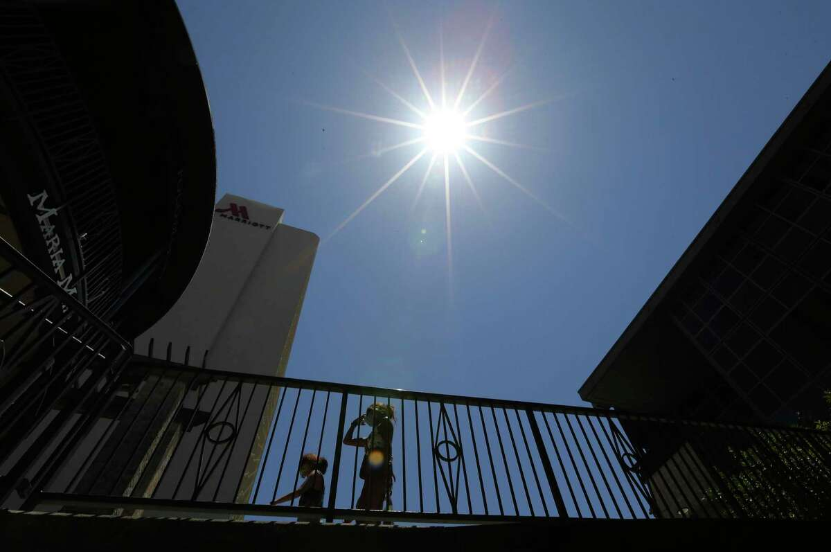 The National Weather Service issued a heat advisory for Bexar and surrounding counties Wednesday that will be in effect until 7 p.m.