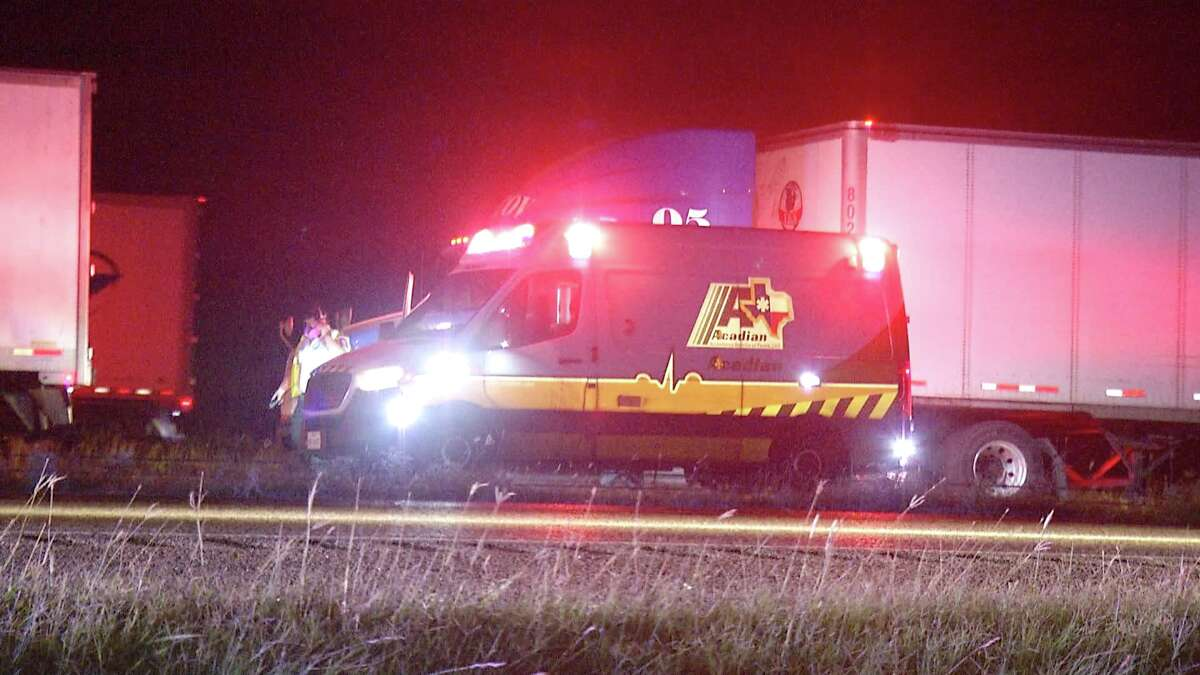 One person is dead after a crash closed down part of Interstate 35 for nearly eight hours Tuesday July 14, 2020.