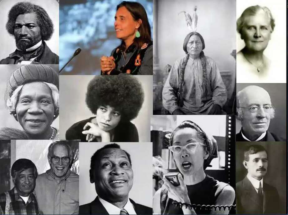Famous people in history who made an impact on race relations. Photo: Contributed Photo / / Connecticut Post