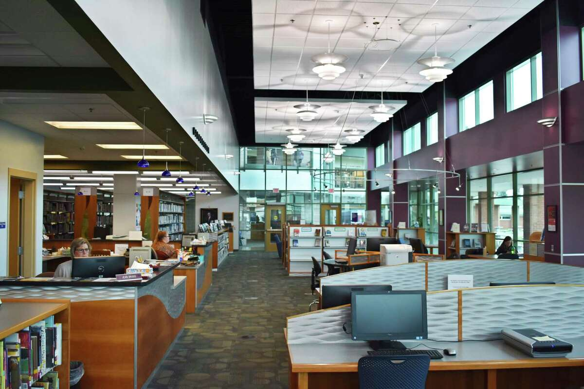 West Shore Community College's William M. Anderson Library is offering curbside pickup for students and community members, includingnon-fiction books on current events, popular fiction, graphic novels and documentaries on DVD. (Courtesy photo)