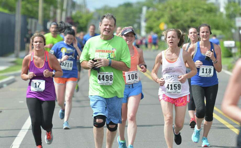 Organizers have announced that the Faxon Law Fairfield Road Races, consisting of a half marathon, 5k and kids fun run, will be held virtually this year between Sept. 17-20 due to concerns about the pandemic. Photo: Alex Von Kleydorff / Hearst Connecticut Media / Norwalk Hour