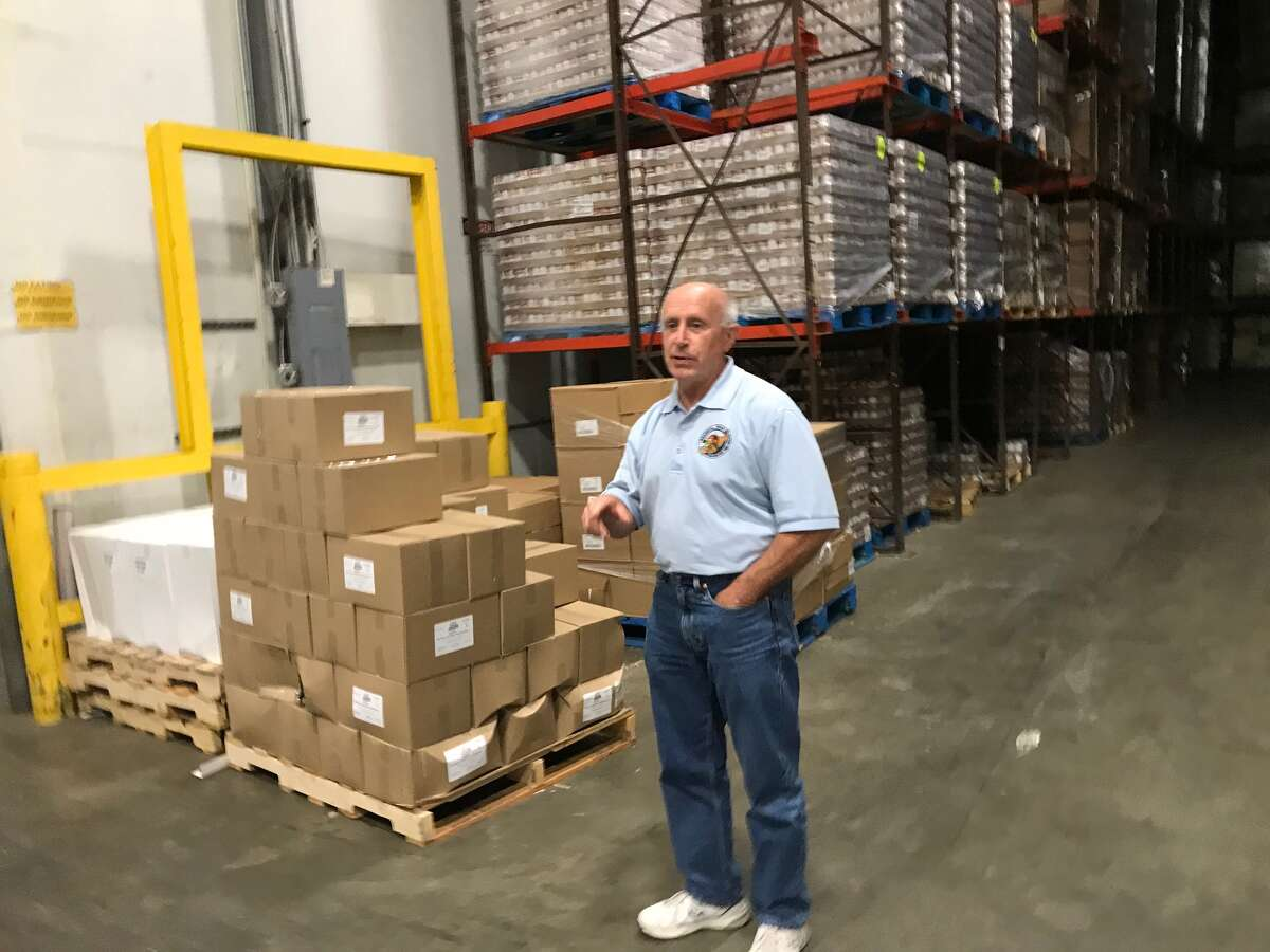 Mark Quandt, executive director of the Regional Food Bank of Northeastern New York for 37 years, all but its first year of operation.