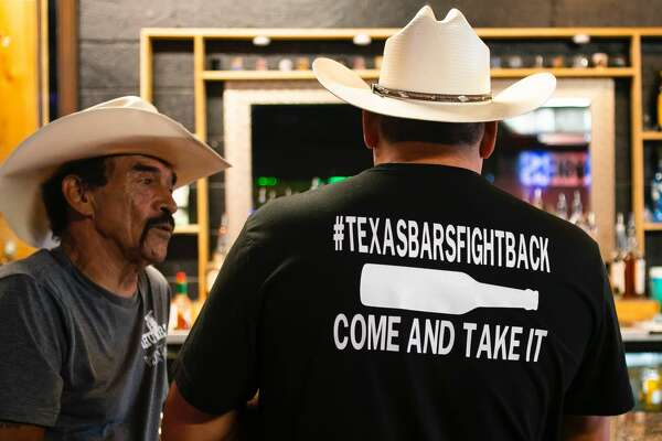 "A Pasadena bar openly defied Gov. Greg Abbott's order for all bars to remain closed due to skyrocketing COVID-19 cases by hosting a ""Texas Bars Fight Back Rally"" on Sunday."