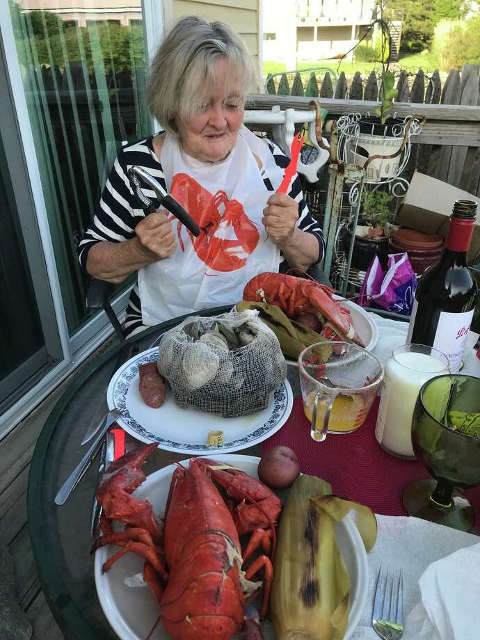 """The New England Chowdafest will hold another """"Clambake to Go"""" July 26. Each clambake (which comes in a pot you get to keep) includes a 1.5 lb. lobster, clams, mussels, sausage, potatoes and corn on the cob. Photo: The New England Chowdafest / Contributed Photo"""
