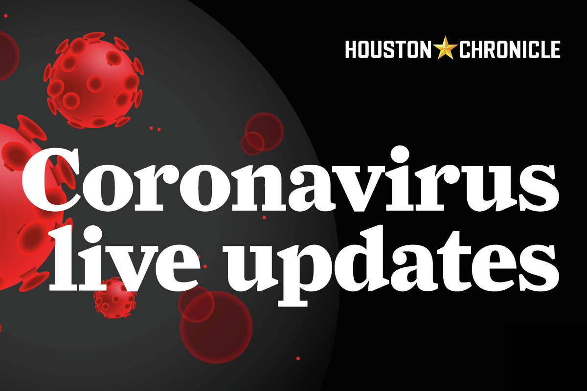 Follow along for the latest coronavirus news and updates from the Houston Chronicle regarding the COVID-19 pandemic and its effect on Houston and the rest of Texas.