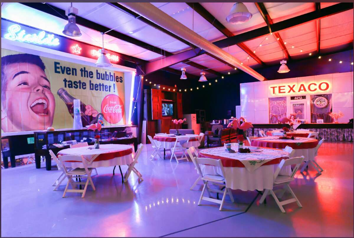 At the Lone Star Glamp Inn its always happy hour and a great place to get-a-way from the hustle and bustle of the big city to practice social distancing in style.