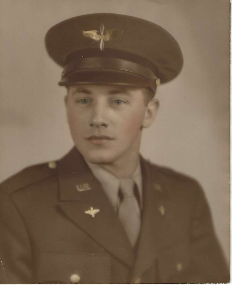 Al Fox of New Milford is shown above while serving in the military during World War II. Photo: Courtesy Of The Fox Family / Danbury News Times Contributed