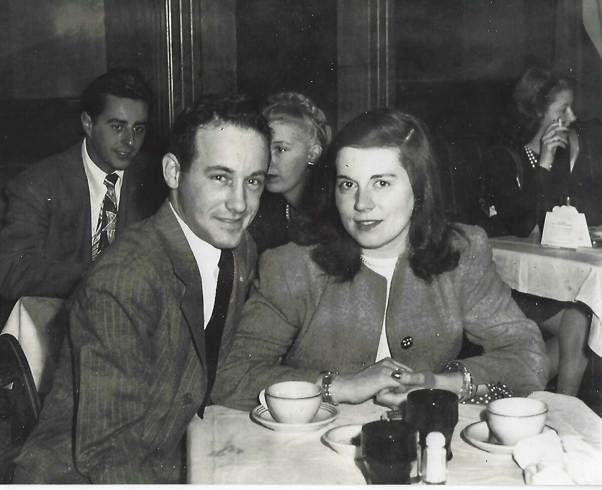 Al Fox is shown above with his wife, Jeanne (Cuddy) Fox, in their early years together.