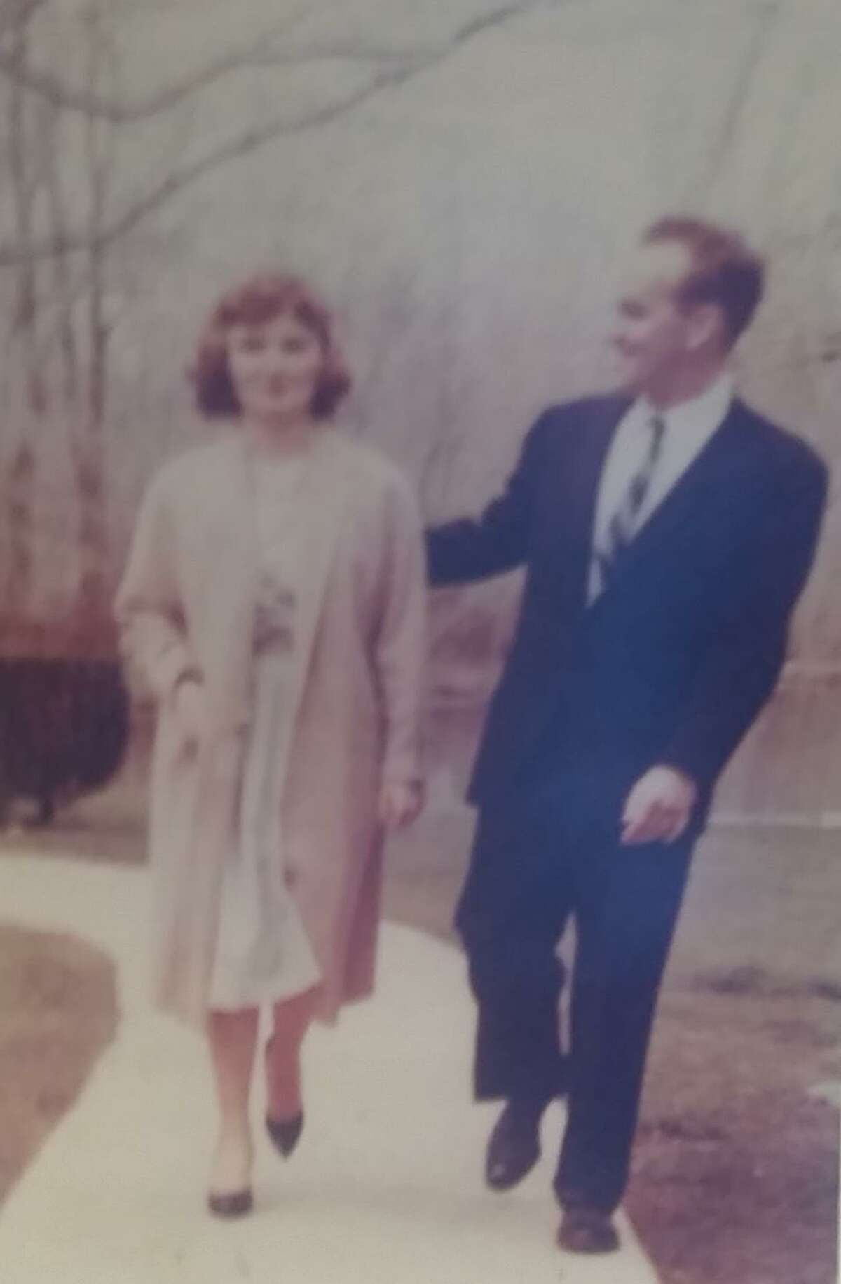 Fred and Patty Scribner of New Milford were married July 22, 1960.