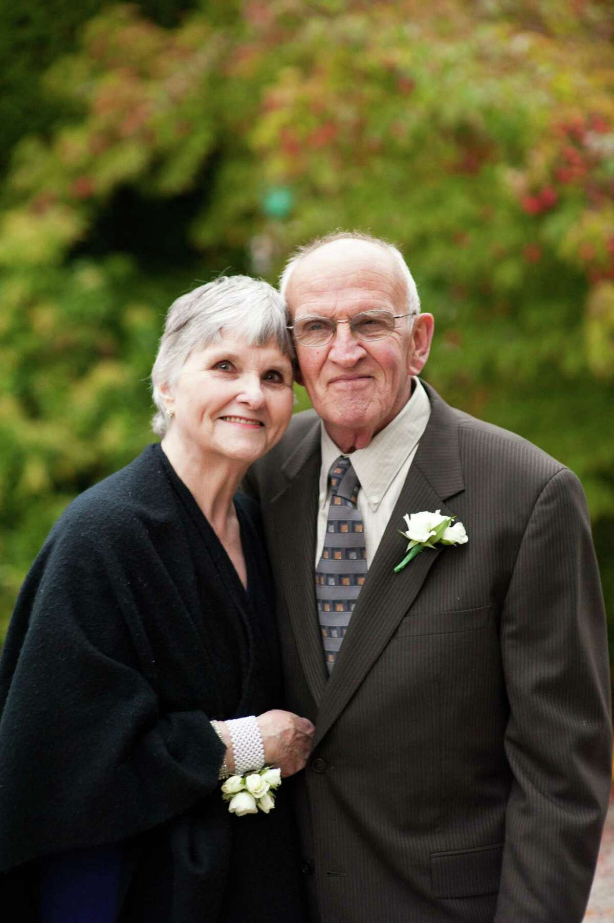 Fred and Patty Scribner of New Milford will celebrate their 60th wedding anniversary July 22.