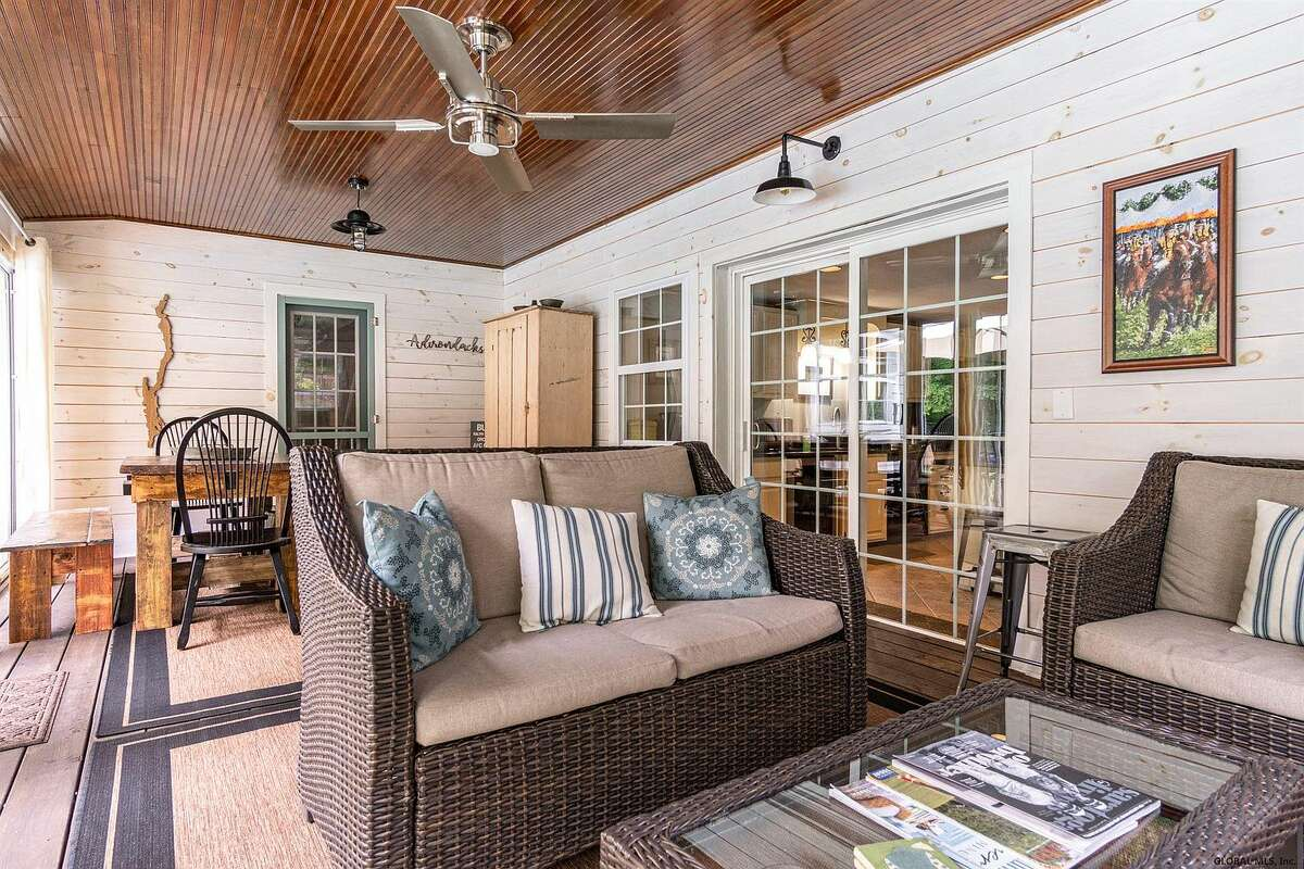 Scroll through the gallery below for a look at five Capital Region homes featuring stunning three season rooms and sunrooms.