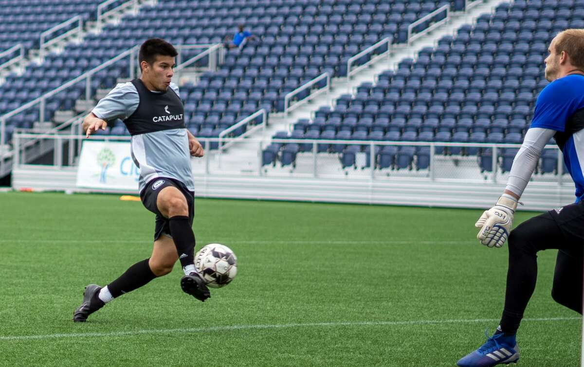 Hartford Athletic practice