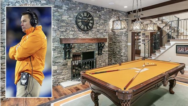 Ex-Tennessee Volunteers Football Coach Butch Jones Selling Knoxville Mansion