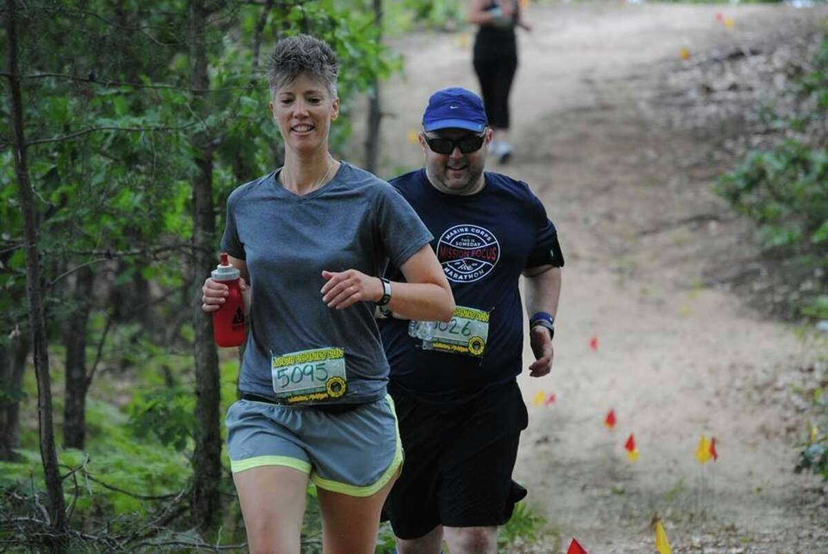 The 21st annual North Country Trail Run at Wellston's Big M trails, originally slated for Aug. 29 and 30, has been canceled due to coronavirus concerns. (News Advocate file photo)