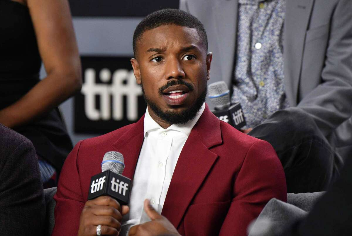 FILE - In this Sept. 7, 2019 file photo, Michael B. Jordan attends a press conference for