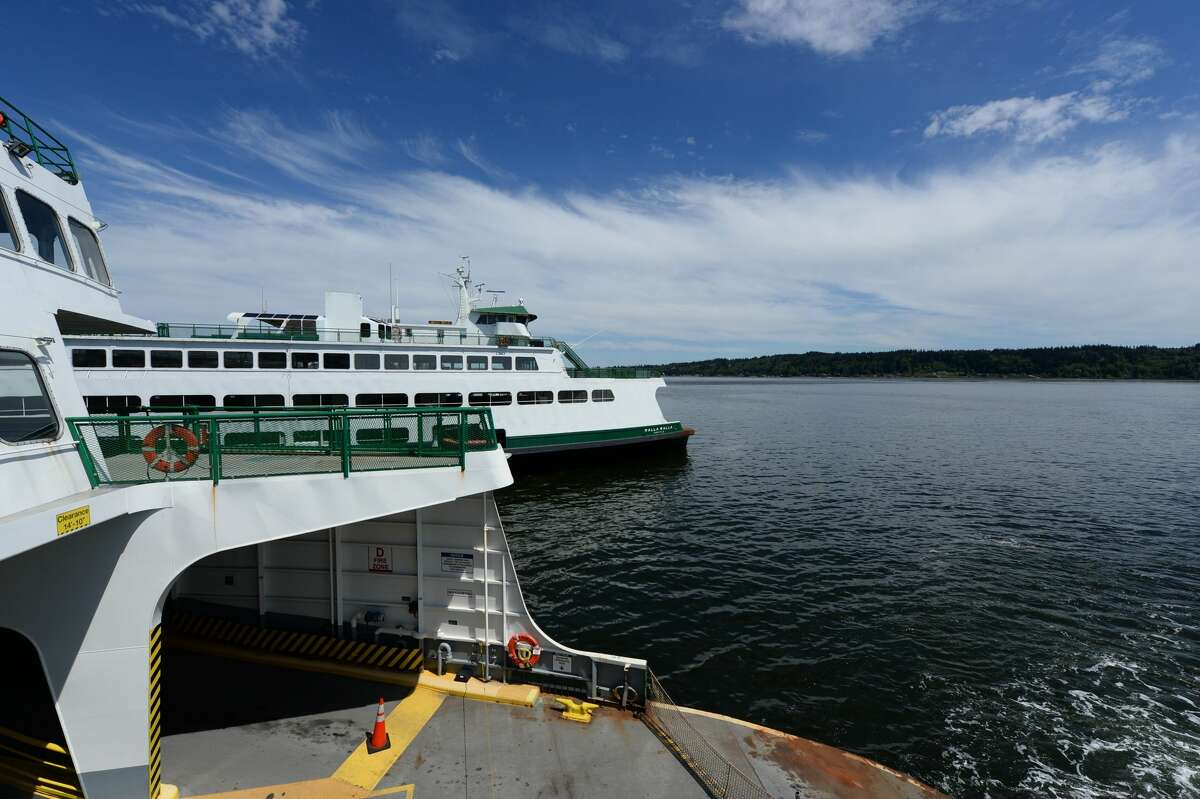 Washington State Ferries to increase service on 3 routes starting this weekend Washington State Ferries will restore service to pre-pandemic levels on three state routes starting this weekend in an effort to alleviate delays. Two-boat weekend service on the Edmonds/Kingston and Mukilteo/Clinton routes will resume starting on Aug. 22, and two-boat service for both weekdays and weekends will resume for Seattle/Bainbridge on Aug. 30. However, it isn't all smooth sailing from here on out. Riders going from Seattle to Bainbridge and Bremerton can still expect some delays as there will be construction to Coleman Dock starting next week. WSF reports that ridership is down 40% compared to this time last year, and walk-on ridership is down a staggering 75% from that period amid the COVID-19 pandemic. To read the full story from reporter Callie Craighead, click here.