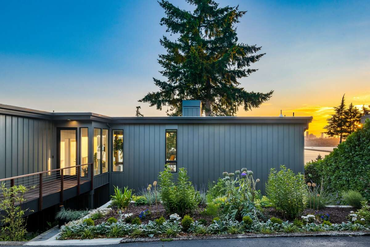 The home is 3,150 square feet on two levels.