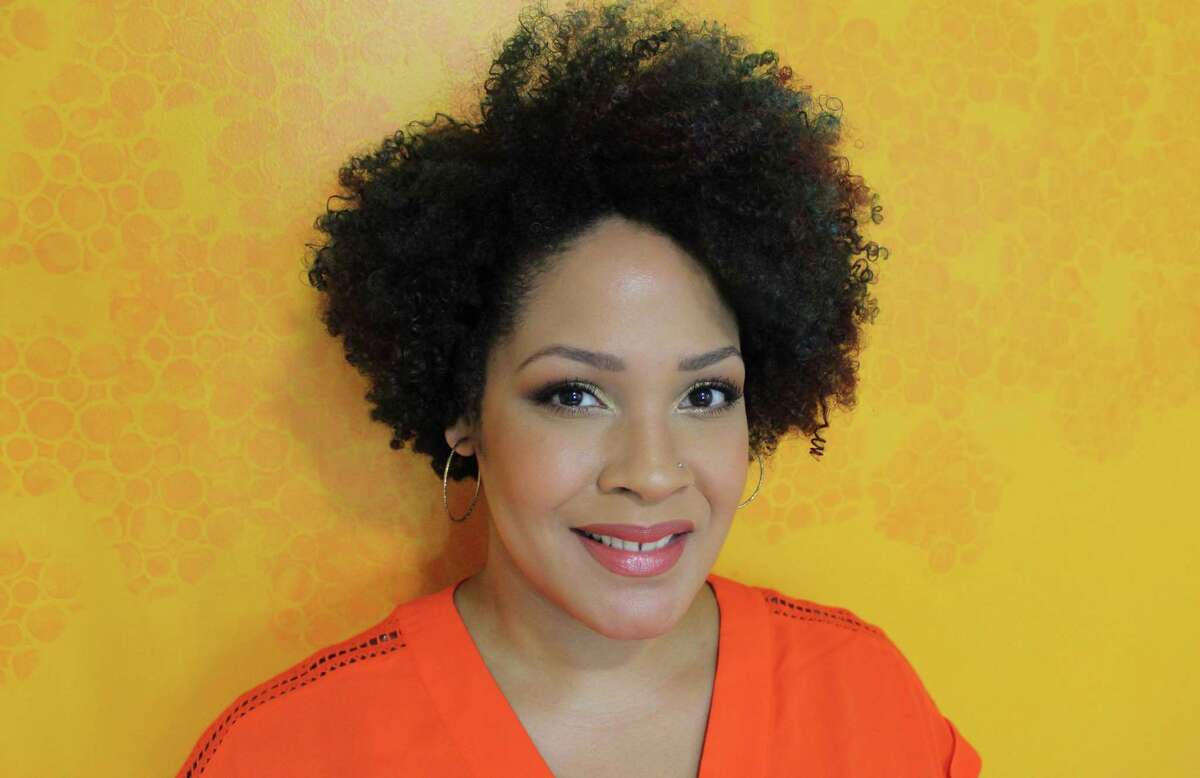Greenwich Library will host a digital discussion about race with Ijeoma Oluo, above, author of the bestselling book 'So You Want To Talk About Race.' The discussion can be viewed online by making a reservation at the library's website.