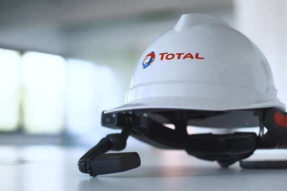 A test at French oil major Total's petrochemical plant in La Porte has ended with the company entering into a deal that will be used for the mass deployment audio and video-equipped helmets as a COVID-19 safety measure at its facilities around the world.