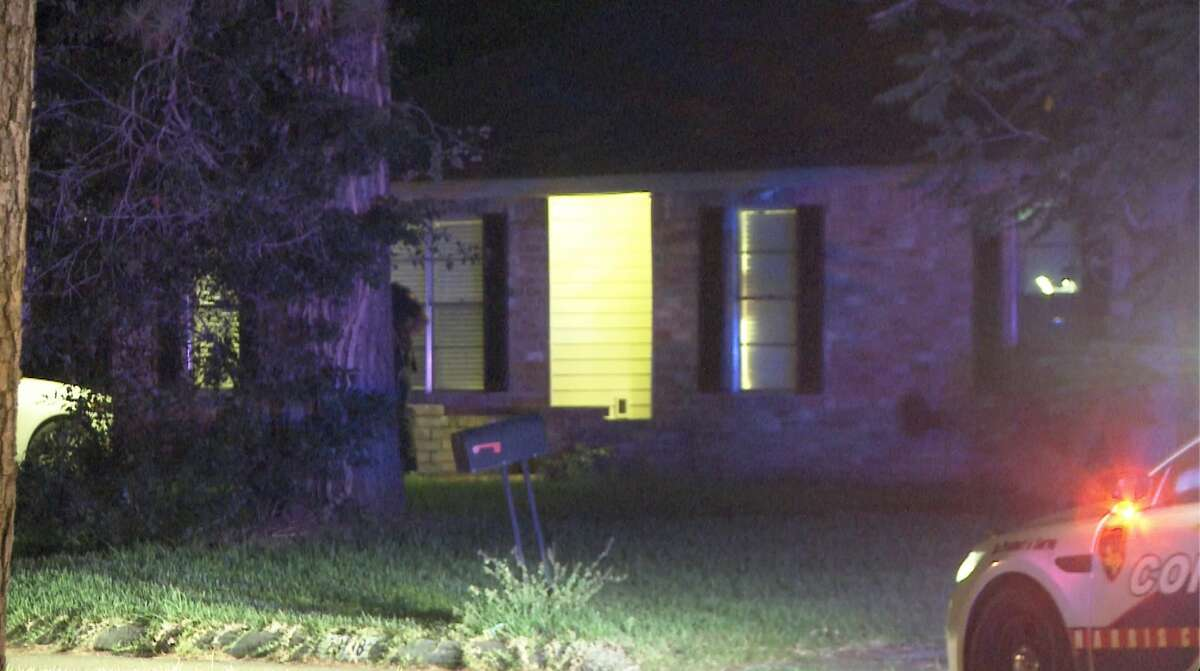 Harris County deputies investigate a shooting that injured a 10-year-old boy in the Birnam Woods subdivision near Spring on Wednesday, July 15, 2020.