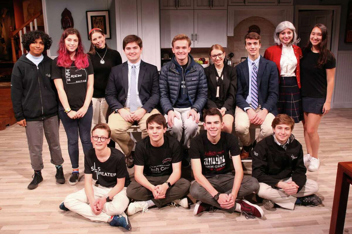 The cast and run crew of St. Luke's Admissions - winner of three Halo Awards.