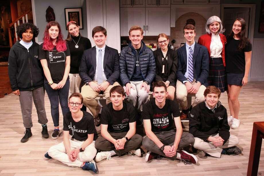 The cast and run crew of St. Luke's Admissions — winner of three Halo Awards. Photo: Valerie Parker / @ St. Luke's School