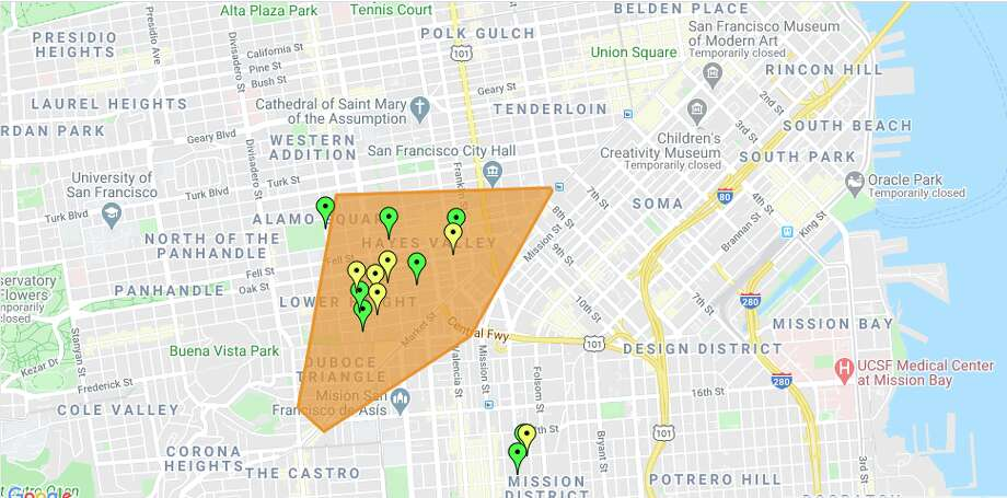 In San Francisco, 4,000 PG&E customers were impacted by a power outage Wednesday morning. Photo: PG&E