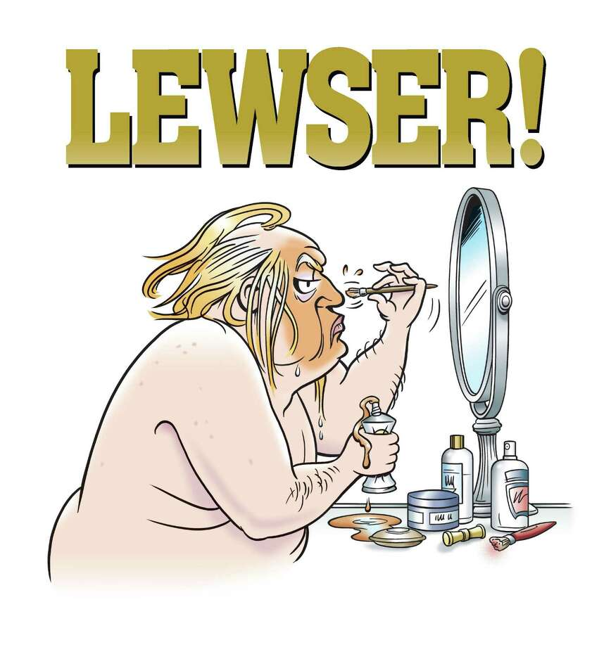"""An image from Garry Trudeau's new book of Trump satire, """"Lewser!"""" Photo: By G.B. Trudeau Dist. By Andrews McMeel Syndication / (c) 2020 G.B. Trudeau"""