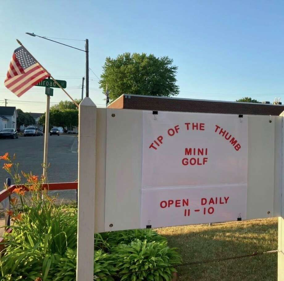 Three Huron County residents recently purchased a mini golf business in Port Austin. (Courtesy Photo)